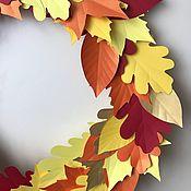 Приколы ручной работы. Ярмарка Мастеров - ручная работа Осенние листья из бумаги. Handmade.