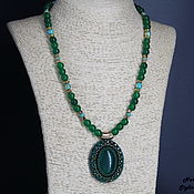 Украшения handmade. Livemaster - original item Necklace with a pendant