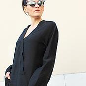 Одежда ручной работы. Ярмарка Мастеров - ручная работа Рубашка Noir Star. Handmade.