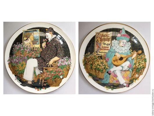 Винтажная посуда. Ярмарка Мастеров - ручная работа. Купить Винтажная тарелка Royal Doulton, После выступления, 1982 год.. Handmade. комбинированный