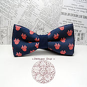 Аксессуары handmade. Livemaster - original item bow tie minnie mouse/ bows minnie/ mickey mouse girlfriend. Handmade.