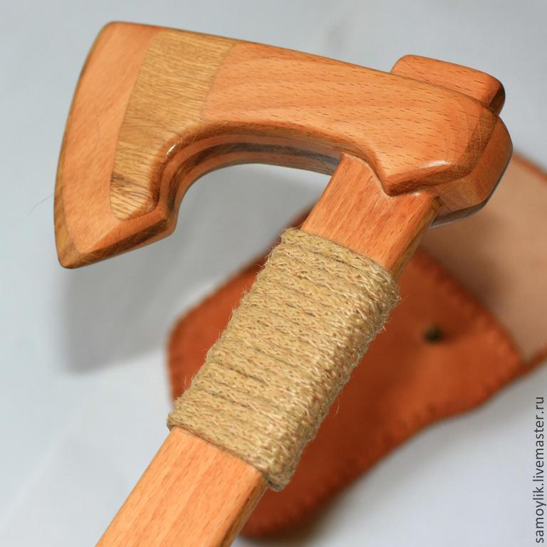 Топор из дерева своими руками для детей