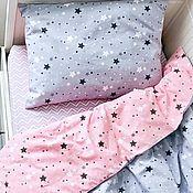 Комплекты постельного белья ручной работы. Ярмарка Мастеров - ручная работа Детское постельное белье. Handmade.