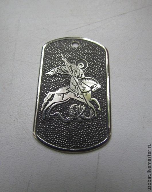 Воинский жетон со святым Георгием, 1 вариант