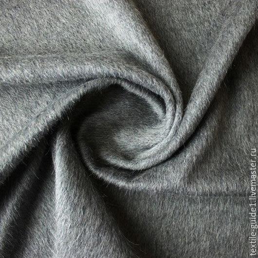 9030844. Пальтовая ткань серого цвета.
