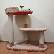 Зоотовары handmade. Livemaster - original item Scratching post for a large cat Oval buy. Available in size.. Handmade.