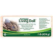 "Материалы для творчества ручной работы. Ярмарка Мастеров - ручная работа Запекаемая пластика ""Super Sculpey Living Doll"" 454 г. Handmade."