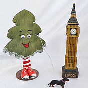handmade. Livemaster - original item Christmas tree in sneakers, funny souvenir, interior toy. Handmade.