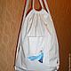 Спортивные сумки ручной работы. Сумка для второй обуви (для сменной одежды). Любовь (manufacta). Интернет-магазин Ярмарка Мастеров.