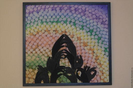 Этно ручной работы. Ярмарка Мастеров - ручная работа. Купить Парящий лотос.. Handmade. Комбинированный, тени, радуга