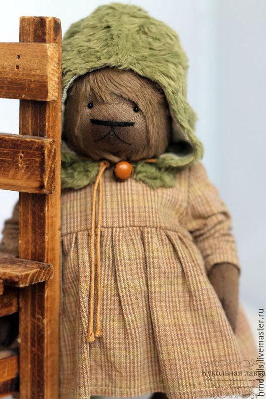 Мишки Тедди ручной работы. Ярмарка Мастеров - ручная работа. Купить Стеша. Handmade. Мишка тедди, коричневый, хлопок японский