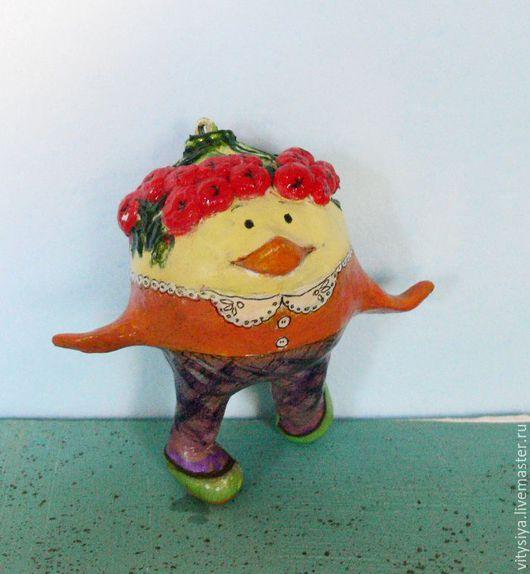 Сувениры ручной работы. Ярмарка Мастеров - ручная работа. Купить новый год елочные шары Рябиновка. Handmade. Комбинированный, новый год 2017