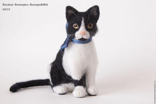 Кошка из шерсти