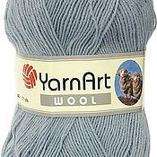 Материалы для творчества ручной работы. Ярмарка Мастеров - ручная работа Пряжа качественная шерсть 80%, акрил 20% YarnArt WOOL. Handmade.