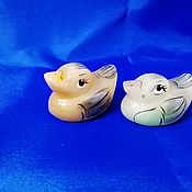 Для дома и интерьера handmade. Livemaster - original item Duck from natural Ural ornamental stone Selenite. Handmade.