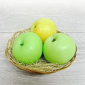 """Мыло ручной работы. Ярмарка Мастеров - ручная работа """"Наливное яблоко"""" сувенирное мыло. Handmade."""