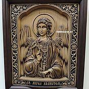 Иконы ручной работы. Ярмарка Мастеров - ручная работа Икона Ангел Хранитель. Handmade.