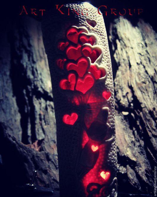 """Освещение ручной работы. Ярмарка Мастеров - ручная работа. Купить """"Дамский Угодник"""" светильник ночник. Handmade. Светильник ночник, artking"""