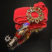Ключ от пламени - кулон лэмпворк