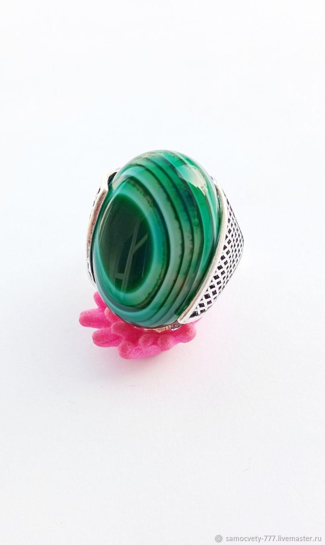 Silver ring'Crimean agate', Rings, Feodosia,  Фото №1