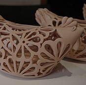 Для дома и интерьера ручной работы. Ярмарка Мастеров - ручная работа Ажурная курочка. Handmade.
