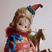 Куклы и игрушки ручной работы. Ярмарка Мастеров - ручная работа Пабло...обезьянка)). Handmade.