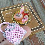 Куклы и игрушки handmade. Livemaster - original item Bottles for dolls house - Dollhouse miniature. Handmade.