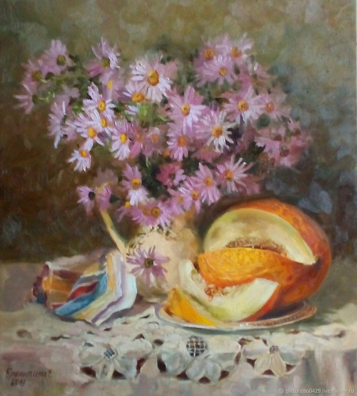 oil painting Autumn still life, Pictures, Vyshny Volochyok,  Фото №1