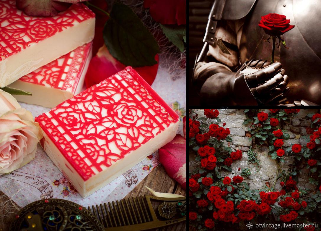 Natural soap 'Secret garden', Soap, Peterhof,  Фото №1