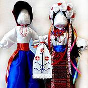 """Куклы и игрушки ручной работы. Ярмарка Мастеров - ручная работа Авторские сувенирные куклы """"Неразлучники"""". Handmade."""