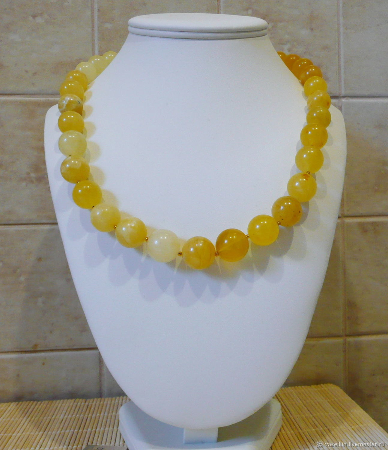 Amber necklace 'German-3' N-93, Necklace, Svetlogorsk,  Фото №1