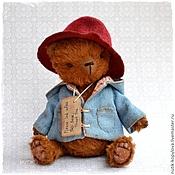 Куклы и игрушки ручной работы. Ярмарка Мастеров - ручная работа мишка тедди в пальто и шляпе. Handmade.