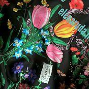 Материалы для творчества ручной работы. Ярмарка Мастеров - ручная работа Ткань .Шелк  Gucci.. Handmade.