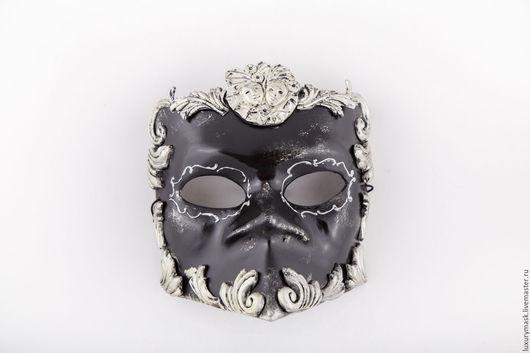Карнавальные костюмы ручной работы. Ярмарка Мастеров - ручная работа. Купить Венецианская маска Bauta Barocco Silver. Handmade. Серебряный