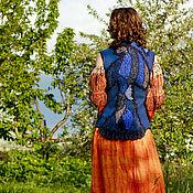 """Одежда ручной работы. Ярмарка Мастеров - ручная работа """"AVATAR"""" - жилет валяный в стиле пэчворк. Handmade."""