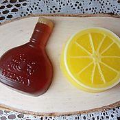 """Мыло ручной работы. Ярмарка Мастеров - ручная работа Мыло ручной работы """"Виски с лимоном"""". Handmade."""