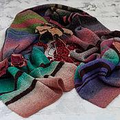 handmade. Livemaster - original item Knitted scarf