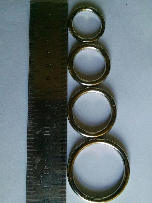 Шитье ручной работы. Ярмарка Мастеров - ручная работа. Купить Кольцо сварное круглое 30-50мм. Handmade. Кольцо, ошейники