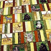 Для дома и интерьера ручной работы. Ярмарка Мастеров - ручная работа Лоскутное одеяло для мальчика, лоскутное покрывало, одеяло пэчворк. Handmade.