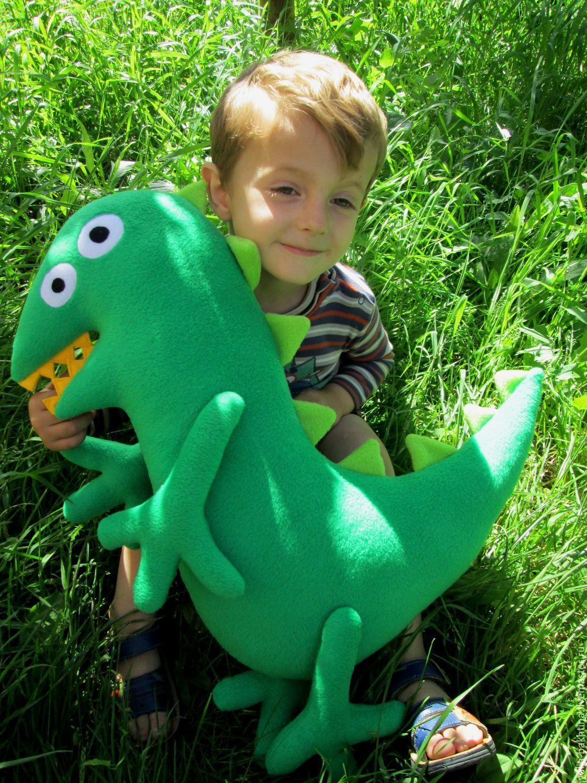Мистер Динозавр  Джоржа, Мягкие игрушки, Новосибирск,  Фото №1