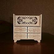 handmade. Livemaster - original item Furniture for dolls: Doll dresser 1552. Handmade.