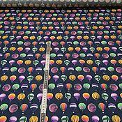 Ткани ручной работы. Ярмарка Мастеров - ручная работа Хлопок плательно-рубашечный с эластаном Lanvin. Handmade.