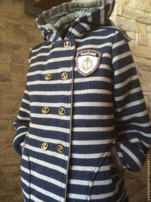 Одежда для девочек, ручной работы. Ярмарка Мастеров - ручная работа. Купить Куртка для девочки КРЗ1007. Handmade. Синий