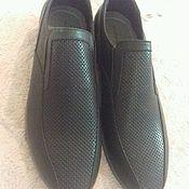 Обувь ручной работы. Ярмарка Мастеров - ручная работа Туфли кожанные мужские. Handmade.