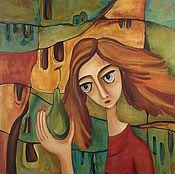 """Картины и панно ручной работы. Ярмарка Мастеров - ручная работа Картина маслом """"Ева"""". Handmade."""