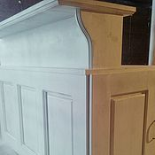 Для дома и интерьера handmade. Livemaster - original item The bar in the style of Provence White frost. Handmade.