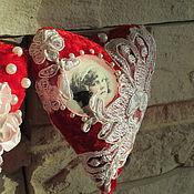Подарки к праздникам ручной работы. Ярмарка Мастеров - ручная работа Сердца нежные. Handmade.