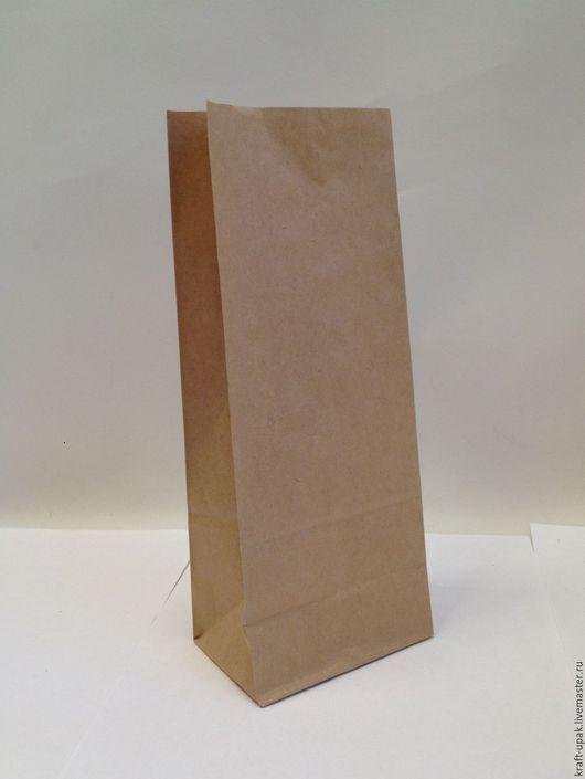 Упаковка ручной работы. Ярмарка Мастеров - ручная работа. Купить Крафтпакет 10х7х26 без ручек. Handmade. Натуральный, крафт-пакет
