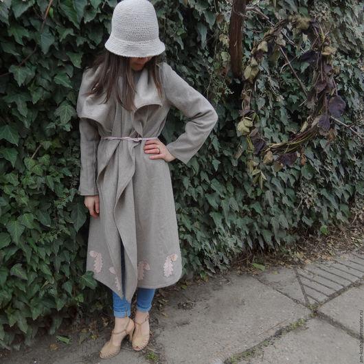Верхняя одежда ручной работы. Ярмарка Мастеров - ручная работа. Купить Женское пальто. Handmade. Женское пальто, пальто для девушки