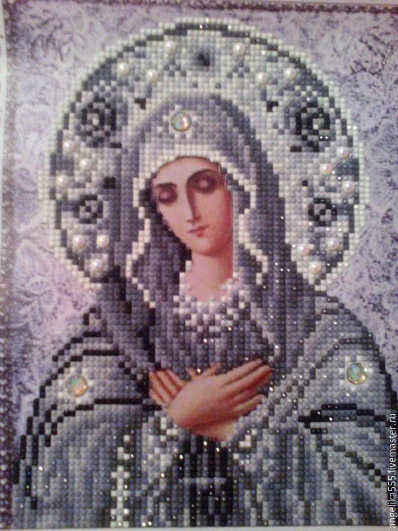 Готовые работы алмазной вышивки иконы фото